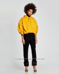 Новые чёрные джинсы Zara р. 36