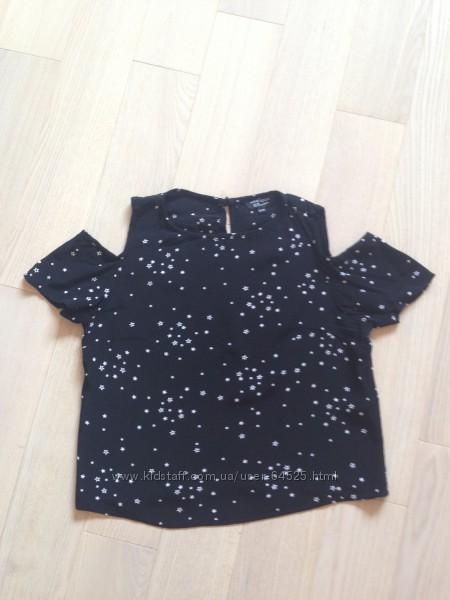 Чудесная блуза с открытыми плечами New Look р. 12-13