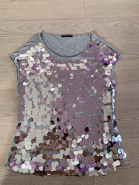 Новая футболочка Sisley р.2XL 160-164