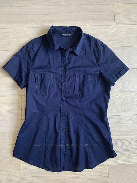 Хлопковая рубашка Terranova р. S  на 12-14 лет