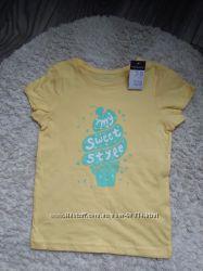 яркие брендовые футболки Primark 6-7 л и 7-8 л