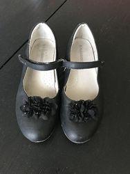 Туфли в школу flamingo, кожа, 23,5 см по стельке