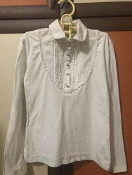Гольф, блуза нарядная в школу на рост с 145 см