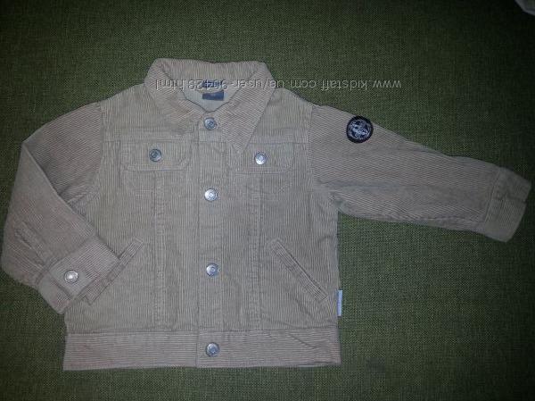 Вельветовая курточка Coccodrillo, 86 см