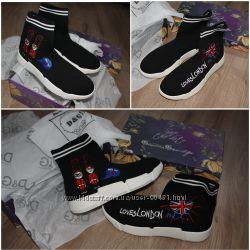 Кроссовки носки Dolce & Gabbana Дольче и Габбана
