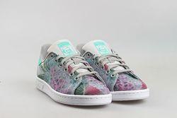 Кроссовки кеды adidas stan smith spring floral в цветы