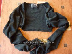Болеро черное, размер XS-S