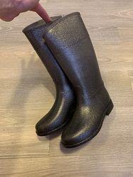 Резиновые сапоги с блестками  Zara 31