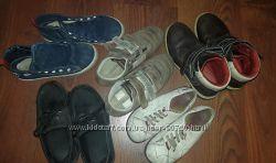Много подростковой обуви. Туфли, ботинки, кеды.  Бренды