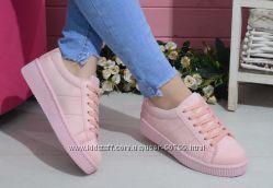 Кроссовки криперы копия PUMA By Rihanna розовые CREEPER с 36по 41 размер
