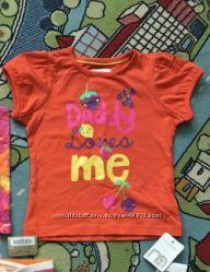 футболка Mothercare 9-12 мес
