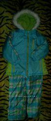Зимовий комплект куртка і напівкомбінезон LONDON FOG р. 5-6. Оригінал