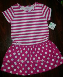 Нове легке стильне літнє плаття з США, розмір 5Т