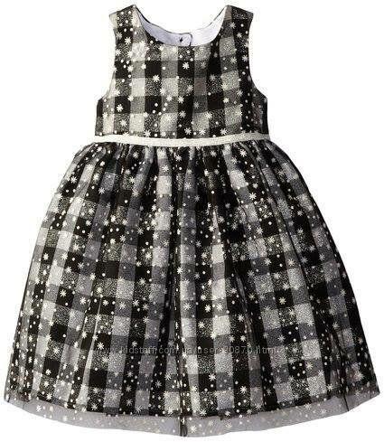 Нарядне пишне плаття MARMELLATA в сніжинки на 6 років в ідеальному стані