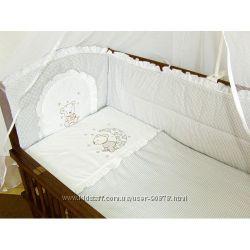 Детское постельное белье в кроватку-Вышивка