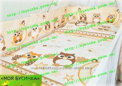 Наборы постельного белья из 6 эл -без балдахина и кармана в кроватку