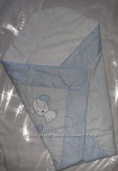 Конверт-одеяло-трансформер на выписку новорожденного
