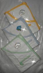 Полотенце с капюшоном для купания детей