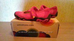 Кожанные туфельки UMI Америка 33 р-р