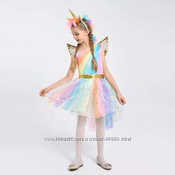 Платье Единорог Крылышки Обруч 8e6dbfbb53d2f