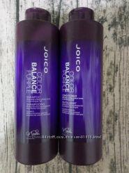Оттеночный шампунь и кондиционер Joico Color Balance Purple фиолетовый