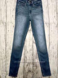 Новые джинсы скинни Hollister 3 long 27-36 на высокий рост