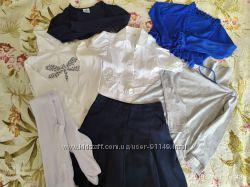 Комплект школьной одежды девочке 6-8 лет7 вещей