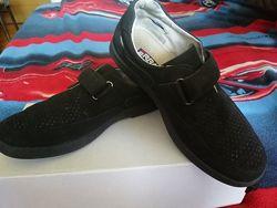 Кожаные туфли Erra, 35 р.