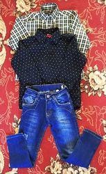 Рубашки крутые мальчику 5-7 лет