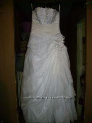 Свадебное платье р 46-48
