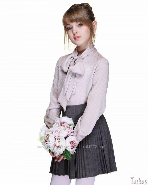 Блузка с бантом, TM Lukas, размер 134