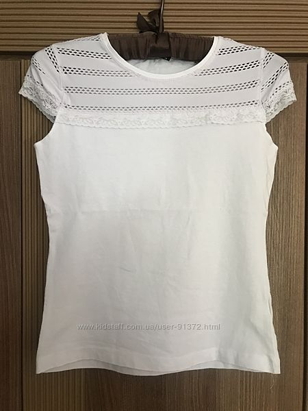 Симпатичная нарядна легкая хлопковая футболка BLUELAND Kids