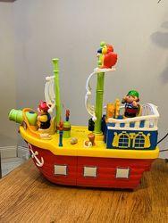 Игровой набор Kiddieland Пиратский корабль с эффектами