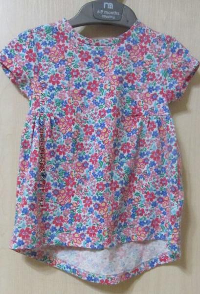 Платье для девочки Мothercare 6-9 мес.