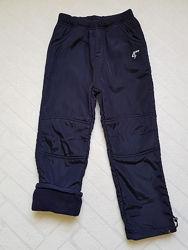 Балоневые утеплённые штаны на флисе для мальчиков 116-164р. Венгрия