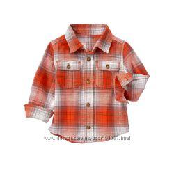 Фланелевая рубашка Crazy8 18-24 мес