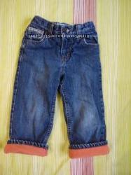 Теплые джинсы Old navy 2T