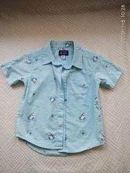 Хлопковая рубашка Childrens place в идеале 3Т