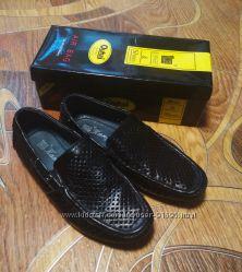 Туфли перфорированные Kangfu, кожа