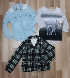 Одежда C&A для девочки 146  152 р.