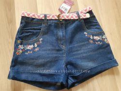Новые джинсовые шортики TU размер 146  152