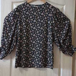 Стильная блузка Next с объемными рукавами  размер 48