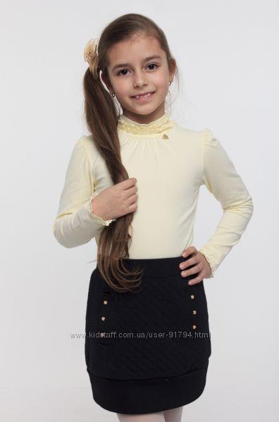 Школьная капитоновая юбка ТМ Смил р. 122