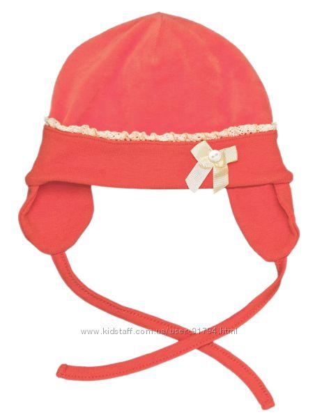 Распродажа демисезонных шапочек Smil велюр с хлопковой подкладкой 47 р.