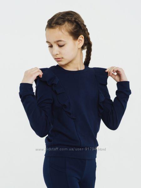 Школьный свитшот на девочку ТМ СМИЛ новая коллекция р. 116-164
