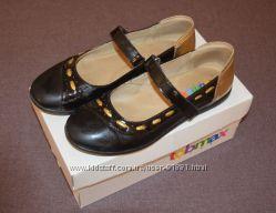 Туфли черные школьные Tobmax 34 р-р стелька 22 см