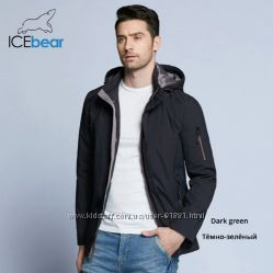 Курточка весна-осень ICEbear размер 46 L цвет Dark green.