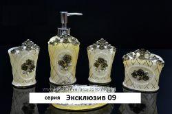 Набор аксессуаров для ванной Эксклюзив 09