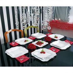 Столовый cервиз Luminarc Authentic White из 19 предметов