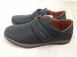 Туфли с перфорацией для мальчика, р. 36 - 23 см